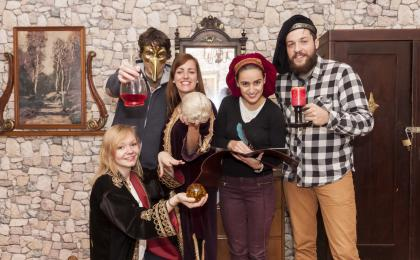 Escape room: The Alchemist's Chamber