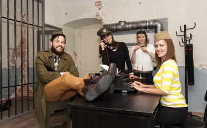 The Enigma escape room in Prague