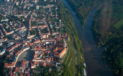 Prague sightseeing scenic flight