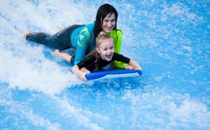 Indoor surfing family fun pack Prague