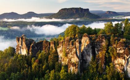 Bohemian Switzerland – summer family trip