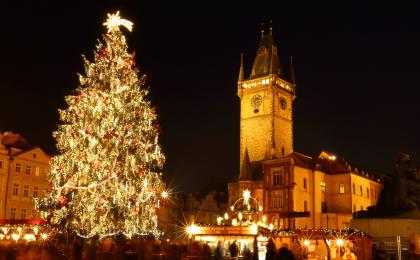 The Prague Christmas market & food tour