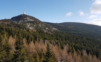 One day hike to Ještěd mountain