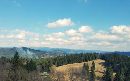 One day hike to Jizera mountains