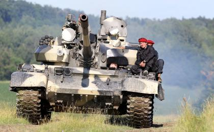 Tank Driving Experience with T-55