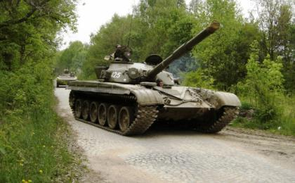 Tank Driving Experience with T-55 and T-72