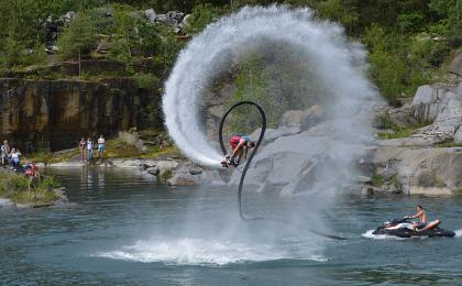 Flyboarding Prague