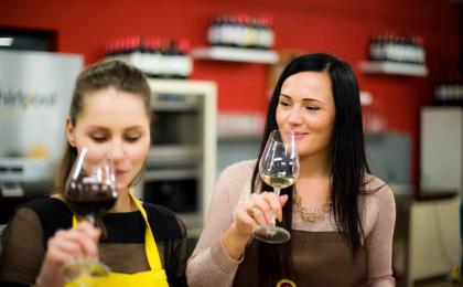 Cooking class Prague with Czech wines and farmers market