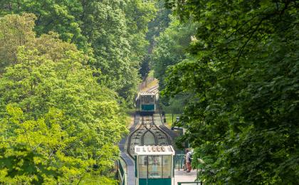 Prague ferry and funicular