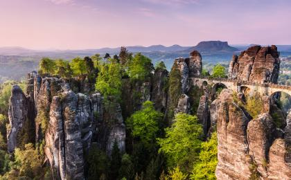 2 countries in 1 day: Forest adventure in Bohemian Switzerland