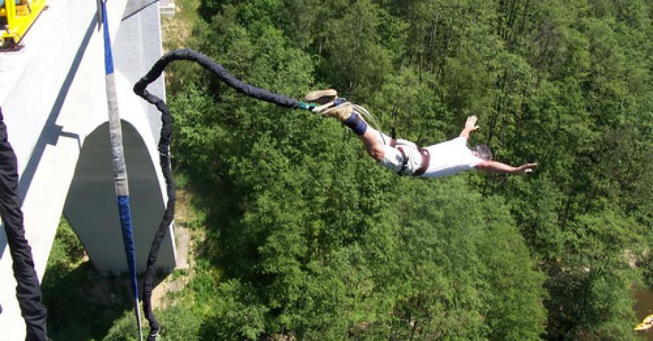 Bungee jumping in oklahoma