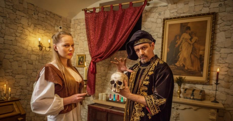 Escape room: The Alchemists Chamber