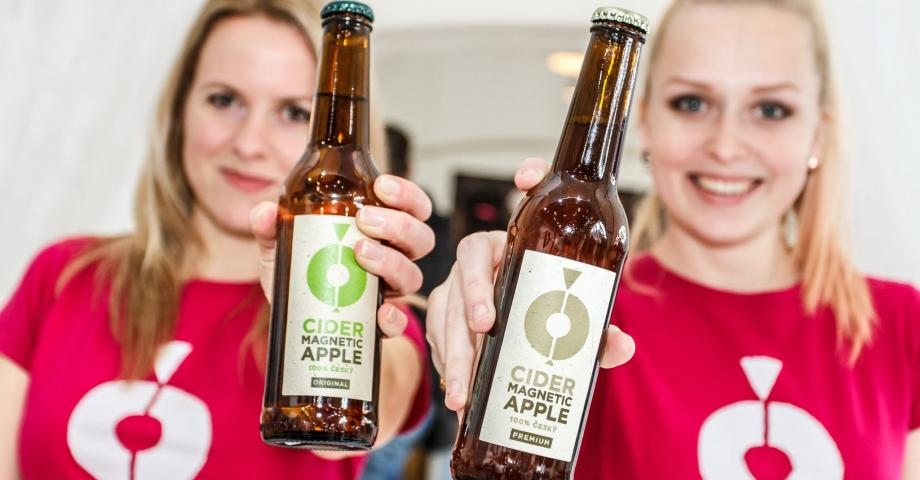 Craft cider tasting Prague