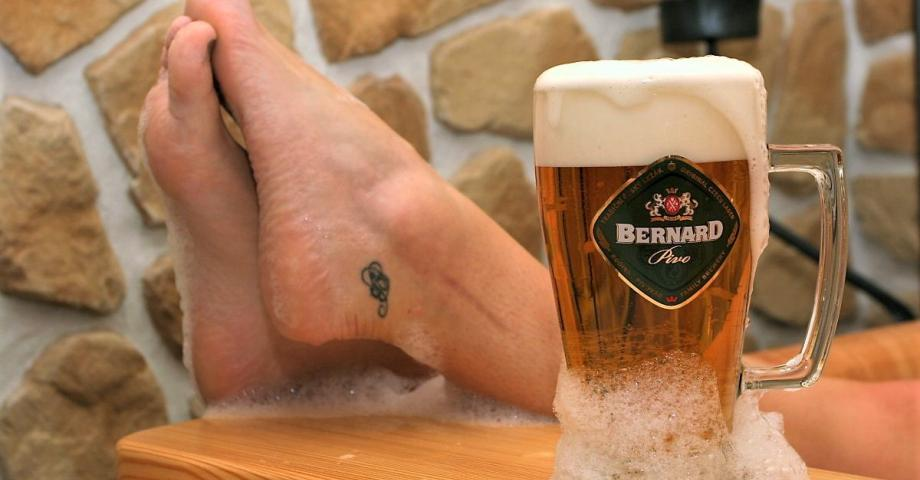 Beer spa Bernard Prague city centre