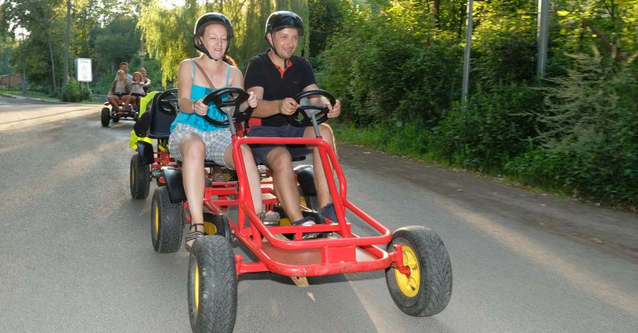 Pedal buggy trip