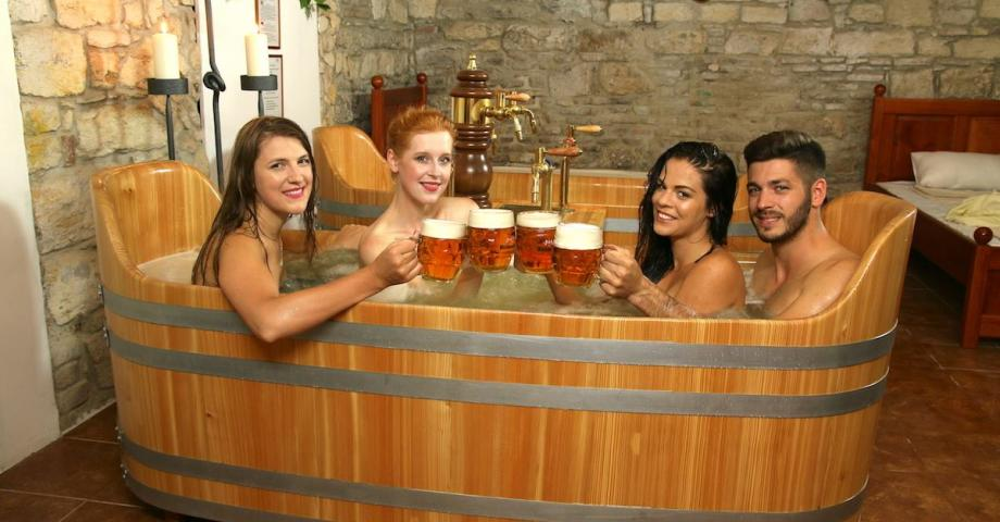 Beer spa Prague