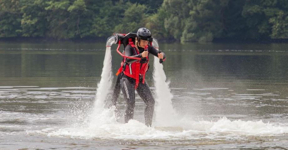 Jetpack experience near Prague