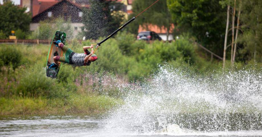 Wakeboarding in Prague
