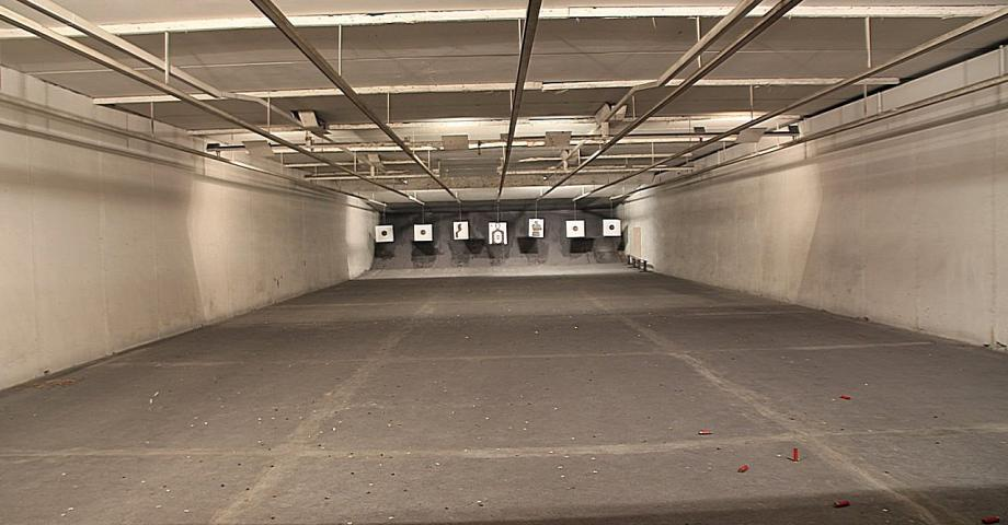 Prague shooting range - interior