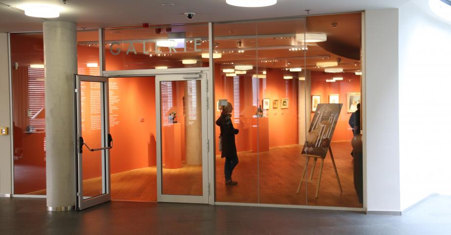 Art gallery with Czech art and free entrance in Prague