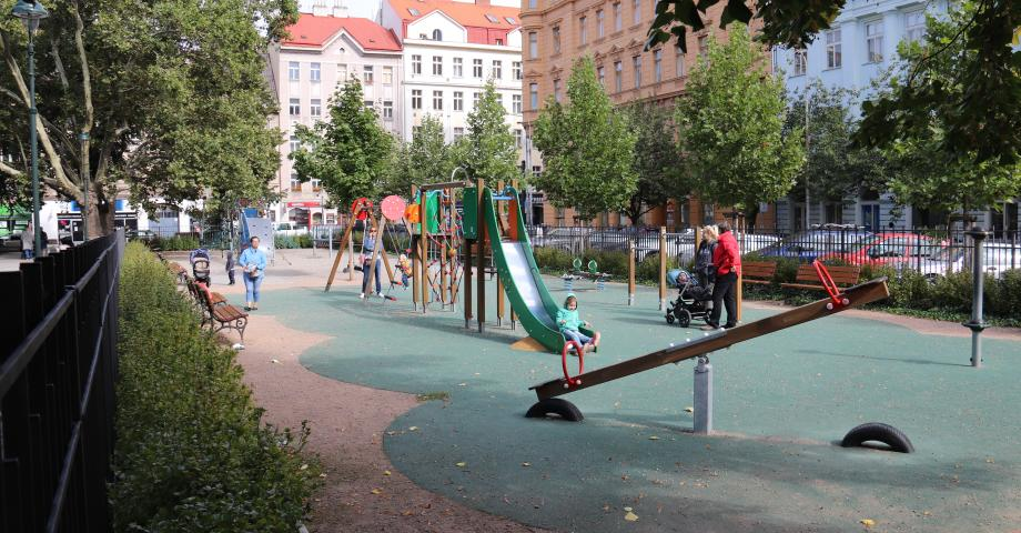 Playground in Karlín