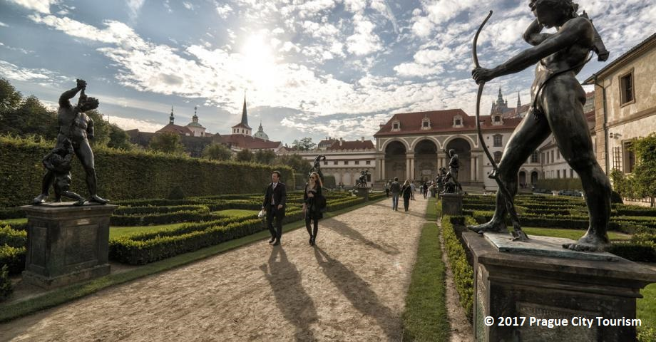 Find romance and peace in a Prague garden