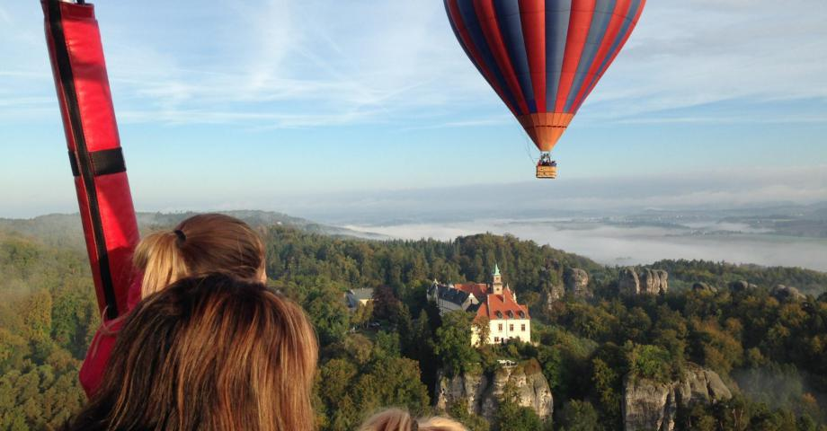 Hot air balloon flight - Bohemian Paradise