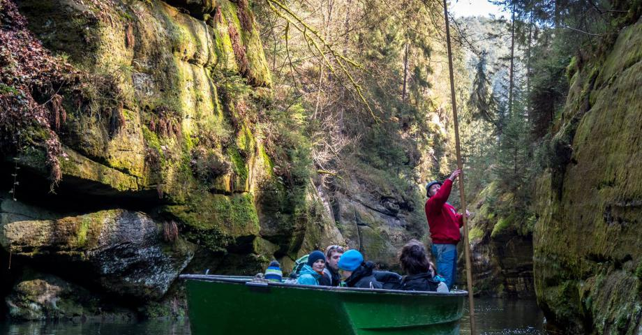 Bohemian Switzerland - boat ride