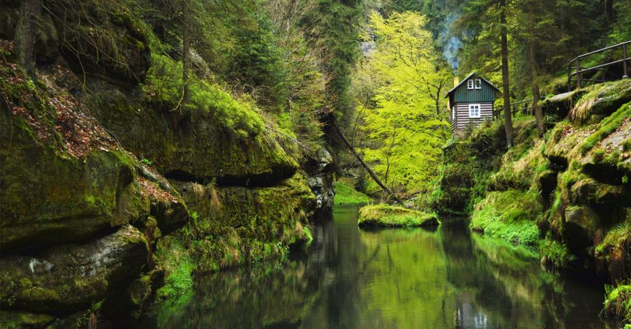 Bohemian Switzerland - Edmunds Gorge